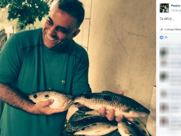 Pedro Idalgo morreu nesta terça-feira, no Hospital Evangélico, em Curitiba (Foto: Reprodução/Facebook)