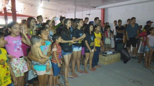 Venilton Teixeira, treinos, olimpíadas rio 2016, torcida, amapá tv (Foto: Amapá TV)