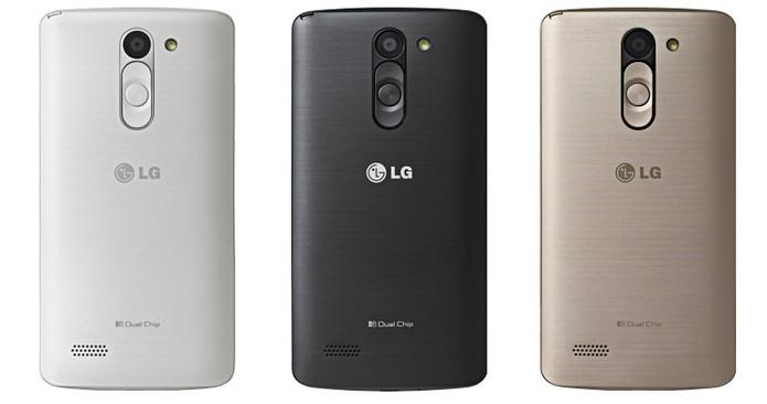 LG L Prime oferece versões em três cores diferenciadas (Foto: Divulgação/LG)