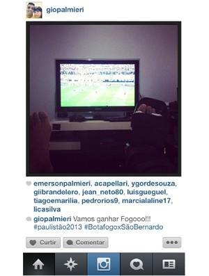 Giovanni posta foto na internet (Foto: Reprodução/Instagram)