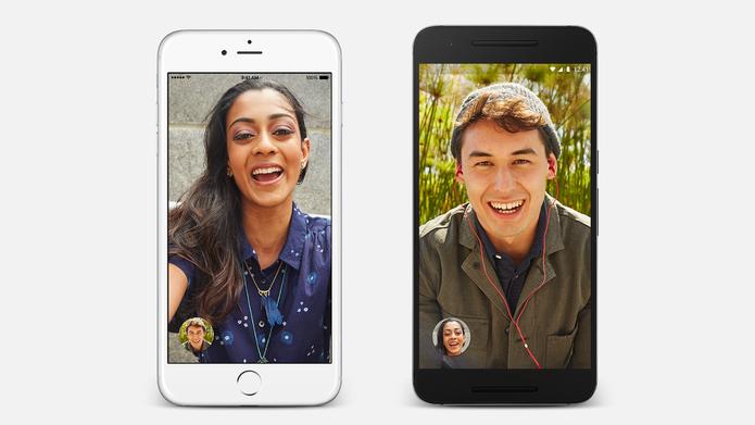 Google Duo é um app para ligações de vídeos similar ao FaceTime (Foto: Divulgação/Google) (Foto: Google Duo é um app para ligações de vídeos similar ao FaceTime (Foto: Divulgação/Google))
