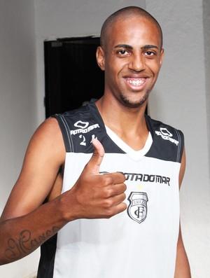 Allan Borges, atacante do Treze (Foto: Magnus Menezes / Jornal da Paraíba)