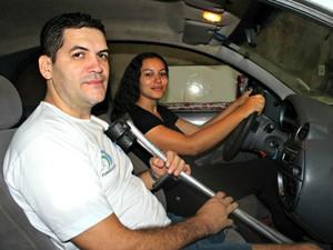 Sistema facilita compra de veículos adaptados por deficientes (Foto: Gabriela Pavão/ G1 MS)