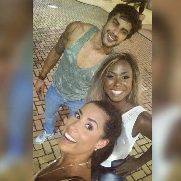 Ex-BBBs Renan, Juliana e Adélia (Foto: Instagram/ Reprodução)