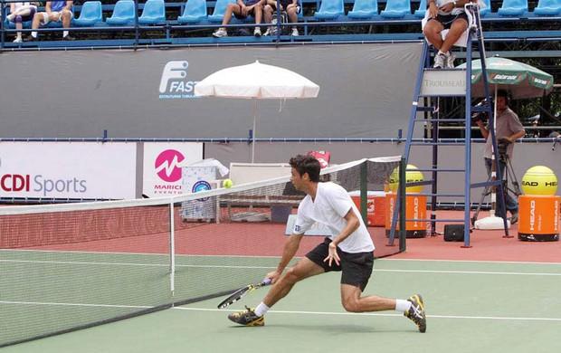 Rogério Dutra Silva, Rogerinho tênis (Foto: Divulgação)