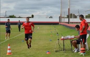 Fora das finais, Atlético-GO treina  forte para entrar bem na Série B