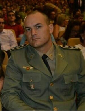 Capitão Rodrigo Rodrigues morreu ao chegar no HGE (Foto: Arquivo / Segurança Pública)