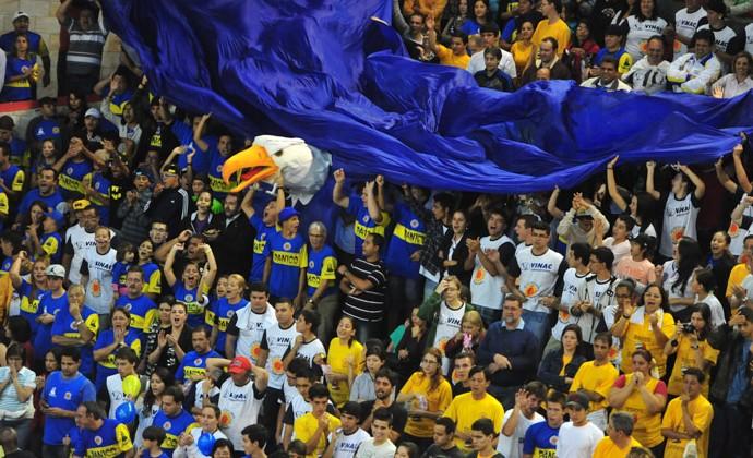 São José Basquete torcida (Foto: Claudio Capucho/PMSJC)