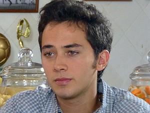 Ben fica de cara com a insinuação  (Foto: Malhação / TV Globo)