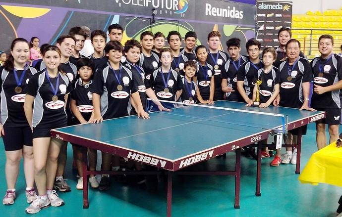 Tênis de mesa de Presidente Venceslau (Foto: Divulgação)