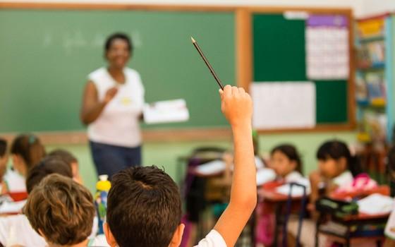 Sala de aula no Brasil metade dos alunos não sabe interpretar texto (Foto: LEO DRUMOND / NITRO)