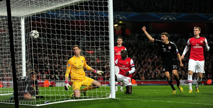 Arsenal x Bayern de Munique 2013 (Foto: Getty Images)