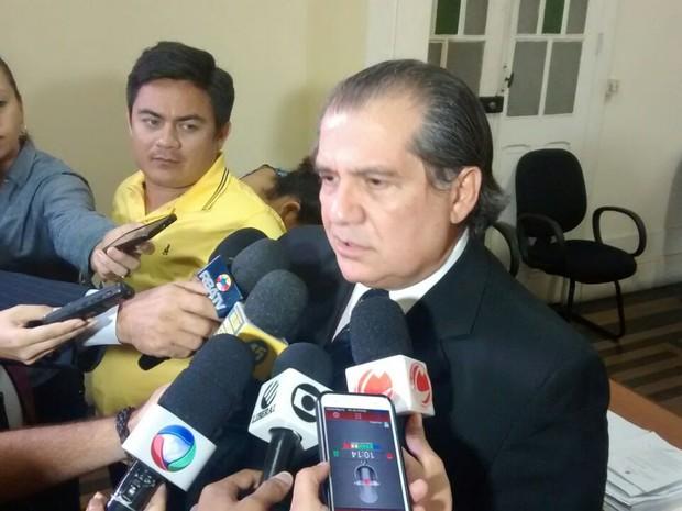 Sábato Rossetti, advogado de Zenaldo Coutinho (Foto: Arthur Sobral / G1)