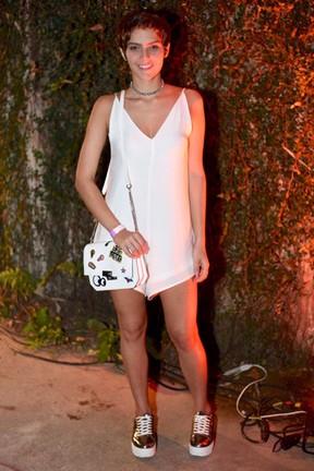 Isabella Santoni em show na Zona Norte do Rio (Foto: Ari Kaye/ Divulgação)