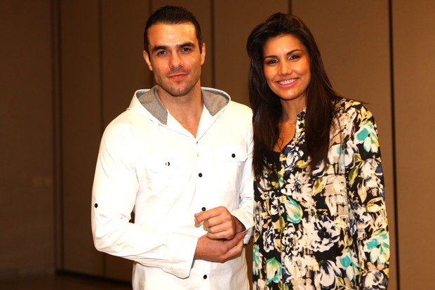 Daniel Saulo e Mariana Felício (Foto: Iwi Onodera / EGO)