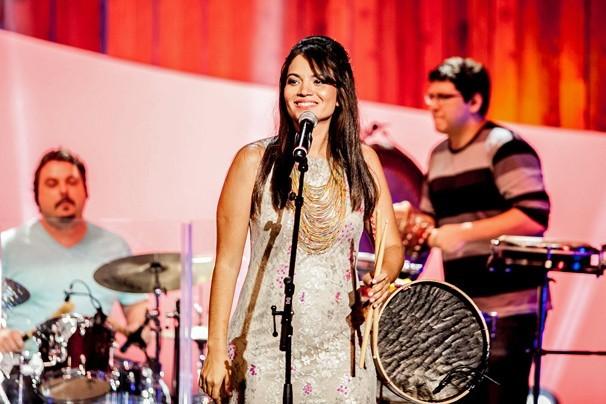 A jovem Flávia Bittencourt é uma das vozes promissoras do Maranhão e participa do Som Brasil (Foto: Matheus Cabral/Globo)