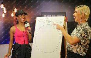 Karol Conka explica fórmula para ser 100% feminista: respeito, informação, força e autoestima