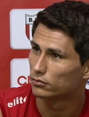 Borebi, atacante do Botafogo-SP (Foto: Reprodução EPTV)
