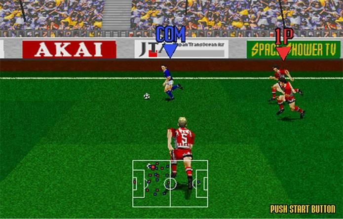 Virtua Striker foi a tentativa da Sega em dominar o mercado (Foto: Divulgação)