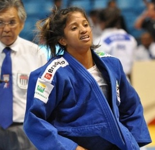 Gabriela Clemente terminou a competição em quinto lugar (Foto:  Everton Monteiro/FPJ/Divulgação)