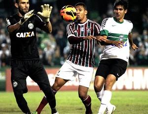 Samuel jogo Coritiba e Fluminense Robinho (Foto: Nelson Perez / Fluminense. F.C.)