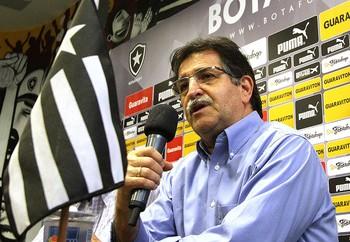Rene Simoes, Presentation Botafogo (Photo: Vitor Silva / SSpress)