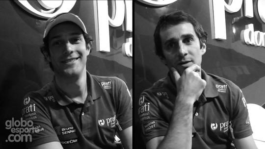 """Senna x Prost: """"herdeiros"""" duelam em quiz nos 25 anos do auge da tensão"""