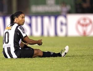 Ronaldinho Gaúcho Atlético-MG decisão Libertadores Olimpia (Foto: AP)