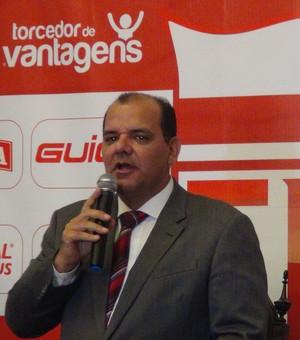 Fernando Paiva, presidente do Conselho Deliberativo do CRB (Foto: Paulo Victor Malta/Globoesporte.com)