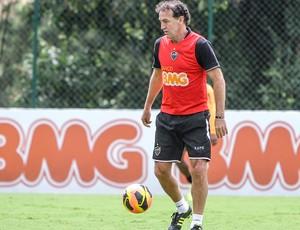 Cuca treino do Atlético-MG (Foto: Bruno Cantini / Site Oficial do Atlético-MG)