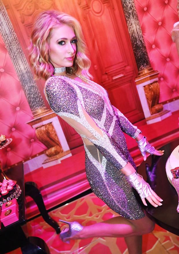 Paris Hilton comemora aniversário no Brasil (Foto: Divulgação)