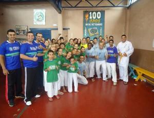 Equipe de caratê de Praia Grande bate recorde (Foto: Divulgação / Prefeitura de Praia Grande)