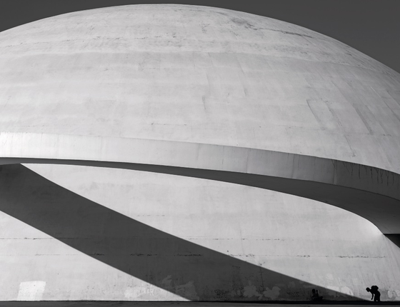 Turistas em frente ao Museu Nacional,Brasilia (Foto:  Renato Stockler)