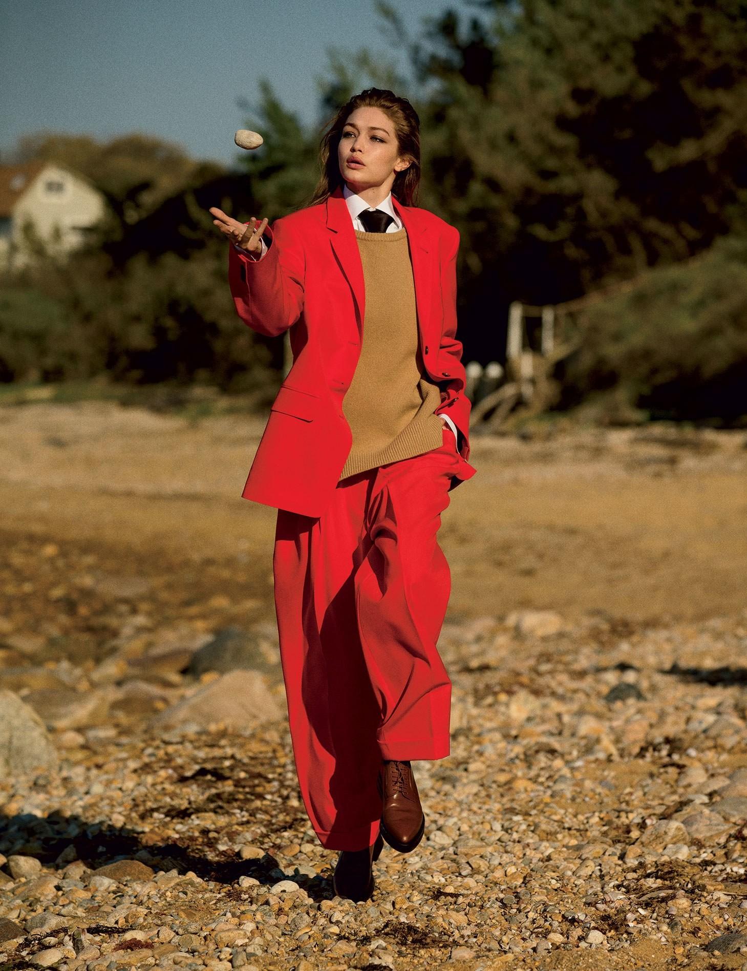 Gigi Hadid (Foto: Reprodução/ Vogue US )