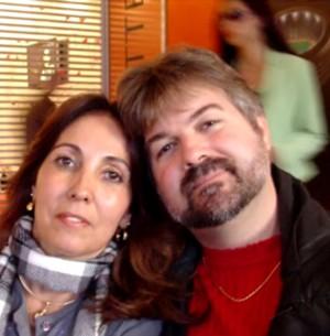 Homem se casa com mulher com quem sonhou (Arquivo Pessoal)