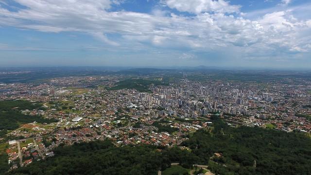 Drone vai mostrar Criciúma de outro ângulo  (Foto: RBS TV/Divulgação)