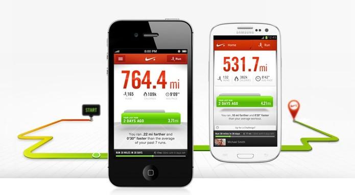O app Nike+ Running ajuda a melhorar seu desempenho na corrida (Foto: Divulgação)