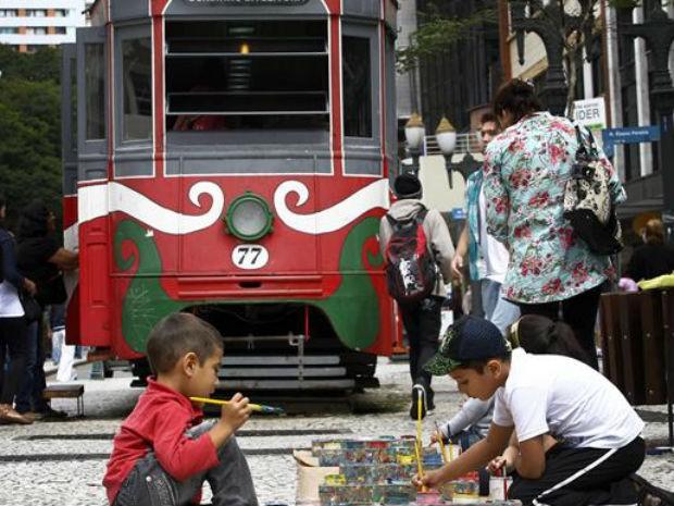 Atividades especiais estão sendo realizadas durante todo o mês de março para comemorar os 320 anos de Curitiba (Foto: Luiz Costa/SMCS)