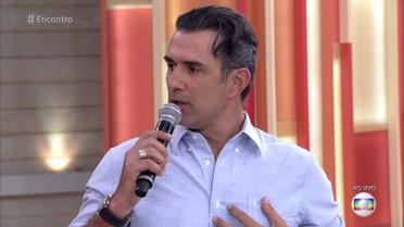 Marcos Pasquim fez tratamento para controlar a agorafobia