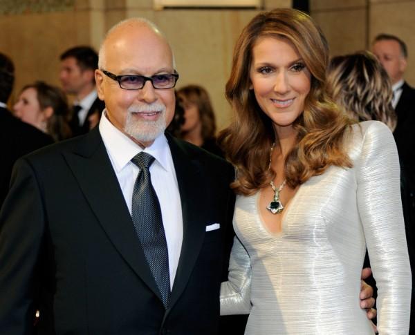 René Angélil e Celine Dion  (Foto: Getty Images)