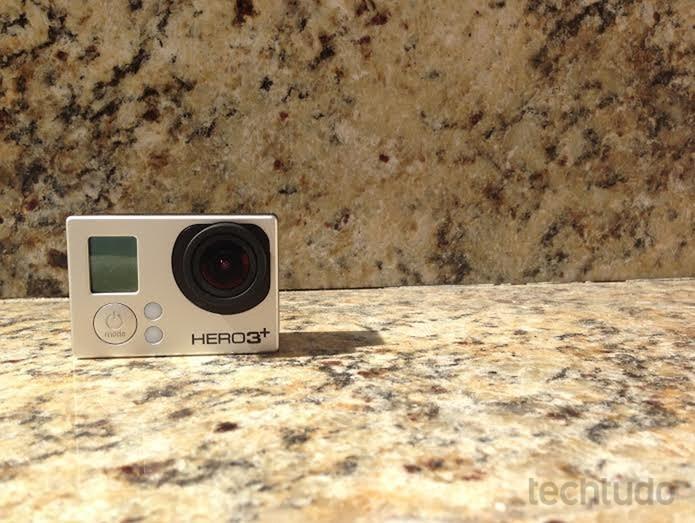 Hero 3 ainda é uma câmera com boa qualidade (Foto: Aline Jesus/TechTudo)