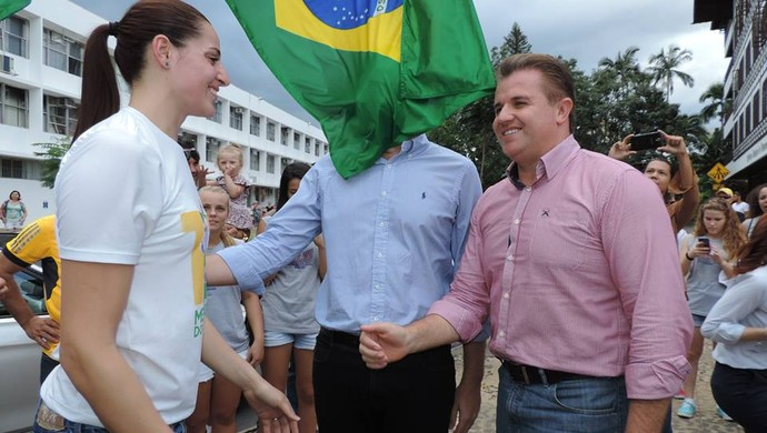 Duda Amorim Blumenau (Foto: Jaime Batista/Blog do Jaime)