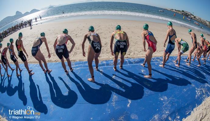 Evento-teste de triatlo no Rio de Janeiro (Foto: Wagner Araújo/Mundo Tri)