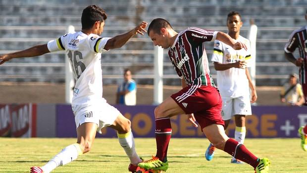 Wagner jogo Santos e Fluminense  (Foto: Nelson Perez / Site Oficial do Fluminense)