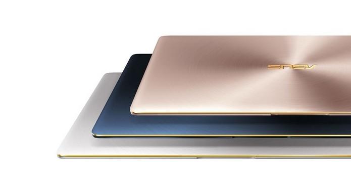 Com 11,9 mm de espessura, ZenBook 3 é mais fino que MacBook (Foto: Divulgação/Asus)