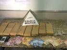 PM apreende 10 kg de maconha após denúncia em Montes Claros