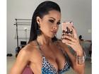 Fernanda D'avila exibe o corpo perfeito em foto de biquíni