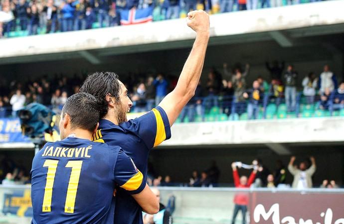 Luca Toni Hellas Verona (Foto: Agência EFE)