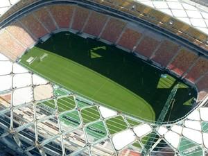 Arena da Amazônia em fase de acabamento (Foto: Chico Batata/Agecom)