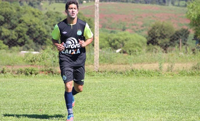 Fabinho Gaúcho lateral da Chapecoense (Foto: Aguante Comunicação/Chapecoense)